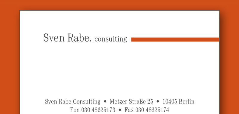 Sven Rabe Consulting